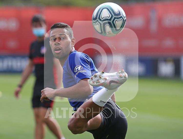 Atletico de Madrid's Renan Lodi during training session. July 14,2020.(ALTERPHOTOS/Atletico de Madrid/Pool)