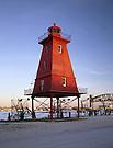 Southwest Reef Lighthouse.Morgan City, Louisiana
