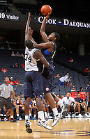 CJ Barksdale at the NBPA Top100 camp June 18, 2010 at the John Paul Jones Arena in Charlottesville, VA. Visit www.nbpatop100.blogspot.com for more photos. (Photo © Andrew Shurtleff)