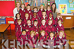 Pictured on their first day of school in Moyderwell Primary School, Tralee on Thursday:.Front row l-r: Shalu Sel, Maja Cieslak, Anna Landy, Natalie Naing, Katie O'Driscoll.Second row l-r: Patrick Fital, John Paul Conway, Cameron O'Brien-Coffey, Yasmin Reidy-Houlihan, Ava Ward, Molly Duggan.Third row: Giuli Bekauri, Ava Goodall-Sugrue, Tobi Obadina, Adrien Paluszczak, Semilora Babalola, Ava O'Connor.Back row: Ms. Patricia O'Connor, Lauren Doody, Daragh O'Brien, Lara Johnston, Mikolay Korol, Aoibhinn McCarthy and Ms. Brenda Coughlan.