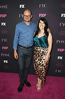 """WEST HOLLYWOOD, CA - AUGUST 9: Brad Simpson, Alexis Martin Woodall, at Red Carpet Event For FX's """"Pose"""" at Pacific Design Center in West Hollywood, California on August 9, 2019. <br /> CAP/MPIFS<br /> ©MPIFS/Capital Pictures"""