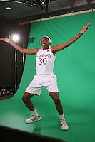 SAN ANTONIO, TX - APRIL 2:  Nnemkadi Ogwumike at the Final Four media day on April 2, 2010 in San Antonio, Texas.