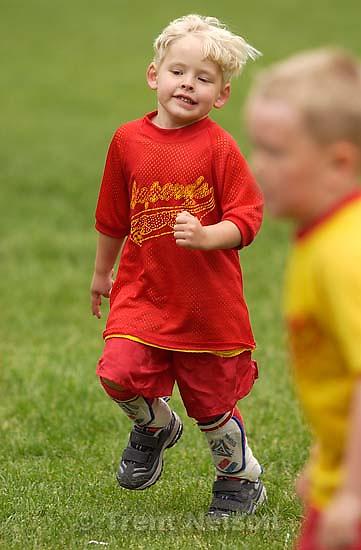 Nicholas. Nathaniel's soccer team<br />