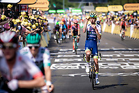 Yoann Offredo (FRA/Wanty Gobert) taking some water refrehment while finishing. <br /> <br /> Stage 16: Nimes to Nimes (177km)<br /> 106th Tour de France 2019 (2.UWT)<br /> <br /> ©kramon