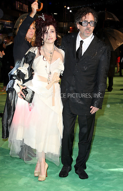 """WWW.ACEPIXS.COM . . . . .  ..... . . . . US SALES ONLY . . . . .....February 25 2010, New York City....Tim Burton and Helena Bonham Carter at the UK premiere of """"Alice in Wonderland"""" on February 25 2010 in London......Please byline: FAMOUS-ACE PICTURES... . . . .  ....Ace Pictures, Inc:  ..tel: (212) 243 8787 or (646) 769 0430..e-mail: info@acepixs.com..web: http://www.acepixs.com"""