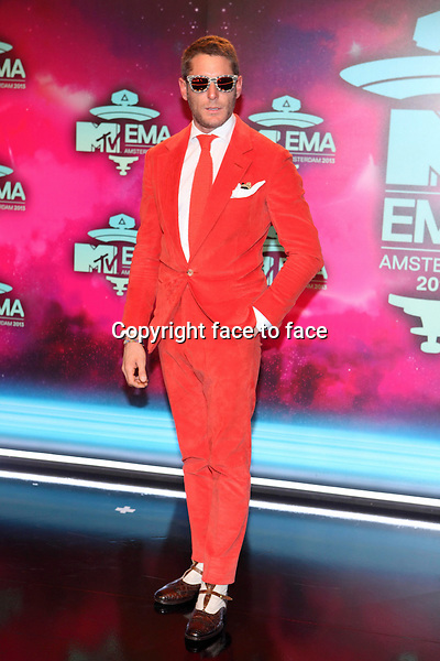 AMSTERDAM - Lapo Elkann at the MTV Europe Music Awards 2013 at the Ziggodome in Amsterdam.<br />