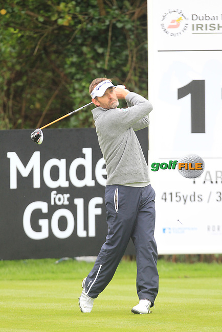 Raphael Jacquelin (FRA) during Thursday's Round 1 ahead of the 2016 Dubai Duty Free Irish Open Hosted by The Rory Foundation which is played at the K Club Golf Resort, Straffan, Co. Kildare, Ireland. 19/05/2016. Picture Golffile | TJ Caffrey.<br /> <br /> All photo usage must display a mandatory copyright credit as: &copy; Golffile | TJ Caffrey.