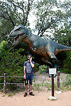 The Dinosaur Park outside of Austin Texas in June 2010.