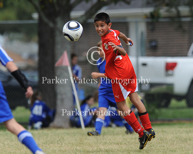 A sample of youth soccer photography from April 10th at Lafreniere Park.