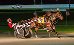 MAY 25, 2019 : Bettors Wish, driven by Dexter Dunn, wins the Art Rooney Pace for 3 year olds at Yonkers Raceway, on May 25, 2019 in Yonkers, NY.  Sue Kawczynski_ESW_CSM