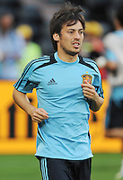 Football - Spain Training - Donbass Arena, Donetsk, Ukraine - 22/6/12..Spain's David Silva during training..Mandatory Credit: Action Images / Henry Browne..Livepic