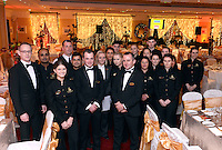 Hotel Staff get ready to service the magnificient banquet at the IHF Ball in the Muckross Park Hotel at the weekend.<br /> Photo: Don MacMonagle<br /> <br /> Repro free photo