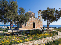CYPRUS, Protaras: chapel of prophet Ilias Thesvitis<br />