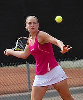 August 6, 2014, Netherlands, Rotterdam, TV Victoria, Tennis, National Junior Championships, NJK,  Isolde de Jong (NED)<br /> Photo: Tennisimages/Henk Koster