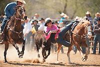 VHSRA - Powhatan, VA - 4.13.2014 - Steer  Wrestling