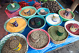 INDONESIA, Flores, grains perfectly displayed at the Bajawa market in Bajawa