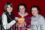 Kelly O'Halloran, Elizabeth Moloney, Edel Harnett at the  Dead Along the Way Premiere in Killarney Cinema on Tuesday night