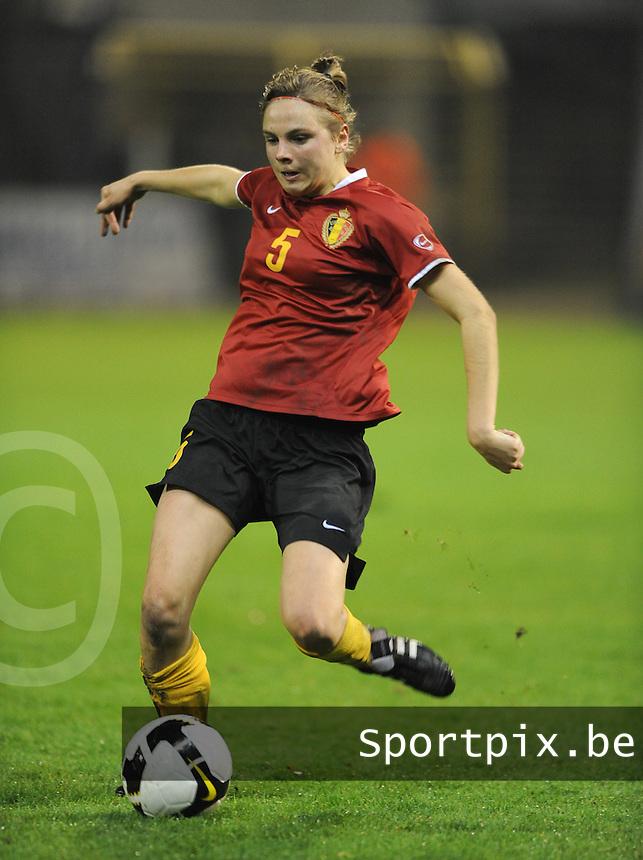 Belgium - Sweden : Lorca Van De Putte.foto DAVID CATRY / Vrouwenteam.be
