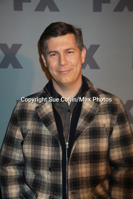 "Chris Parnell is the voice of Agent Cyril Figgis"" in Archer and poses on the red carpet at FX 2012 Ad Sales Upfront held on March 29, 2012 at Lucky Stirke, New York, New York. (Photo by Sue Coflin/Max Photos)"