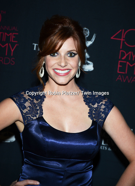 Tara Perry attends the 40th Annual Daytime Creative Arts Emmy Awards on June 14, 2013 at the Westin Bonaventure Hotel in Los Angeles, California.