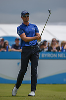 Henrik Stenson (SWE) watches his tee shot on 2 during round 1 of the AT&T Byron Nelson, Trinity Forest Golf Club, Dallas, Texas, USA. 5/9/2019.<br /> Picture: Golffile | Ken Murray<br /> <br /> <br /> All photo usage must carry mandatory copyright credit (© Golffile | Ken Murray)