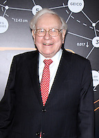 www.acepixs.com<br /> <br /> January 19 2017, New York City<br /> <br /> Warren Buffett arriving at 'Becoming Warren Buffett' World premiere at The Museum of Modern Art on January 19, 2017 in New York City.<br /> <br /> By Line: Wong/ACE Pictures<br /> <br /> ACE Pictures Inc<br /> Tel: 6467670430<br /> Email: info@acepixs.com<br /> www.acepixs.com