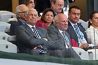 Sir Trevor Brooking and FA Chairman Greg Dyke