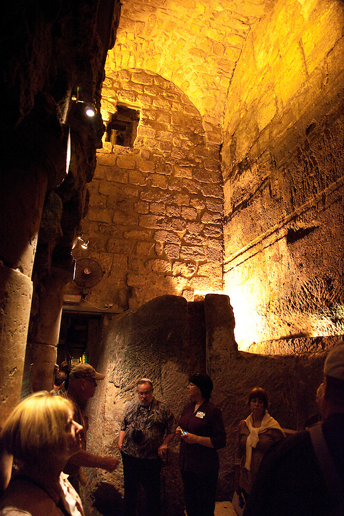 The ancient Herodian street travels underground the lengths of the western & southern walls, revealing remains dating back to time of King Solomon.