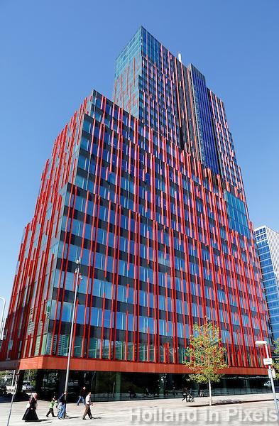 WTC toren bij het station in Almere