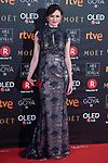 Emily Mortimer attends red carpet of Goya Cinema Awards 2018 at Madrid Marriott Auditorium in Madrid , Spain. February 03, 2018. (ALTERPHOTOS/Borja B.Hojas)