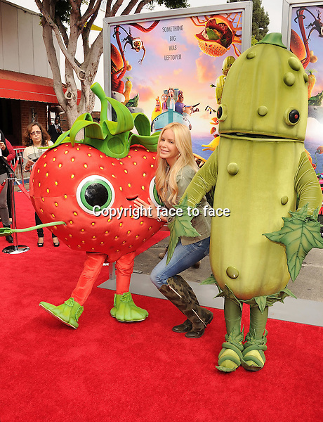 WESTWOOD, CA- SEPTEMBER 21: Actress/model Gena Lee Nolin arrives at the Los Angeles premiere of 'Cloudy With A Chance Of Meatballs 2' at the Regency Village Theatre on September 21, 2013 in Westwood, California.(Gena Lee Nolin)<br />