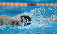 Bradlee Ashby (200IM) in action during the Swimming New Zealand Short Course Championships,Owen G Glenn National Aquatic Centre, Auckland, New Zealand, Wednesday 4 October 2017. Photo: Simon Watts/www.bwmedia.co.nz