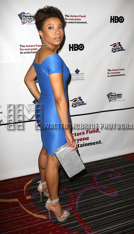 Shalita Grant  attending the 2013 Actors Fund Annual Gala at the Mariott Marquis Hotel in New York on 4/29/2013...