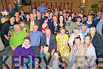 Paddy Leane, Rockland, Killarney, pictured with family and friends as he celebrated his 70th birthday in the Victoria Lodge, Killarney, on Saturday night.