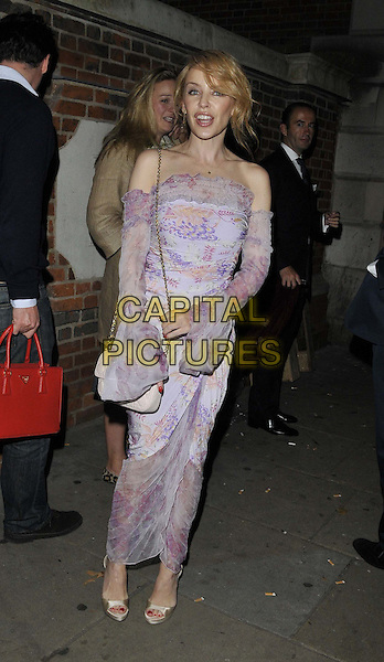 LONDON, ENGLAND - OCTOBER 28: Kylie Minogue attends the Maison Assouline flagship store launch party, Maison Assouline, Piccadilly, on Tuesday October 28, 2014 in London, England, UK. <br /> CAP/CAN<br /> &copy;Can Nguyen/Capital Pictures