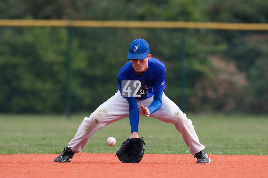 23 September 2009: Pole Baseball Rouen, Alexandre Roy