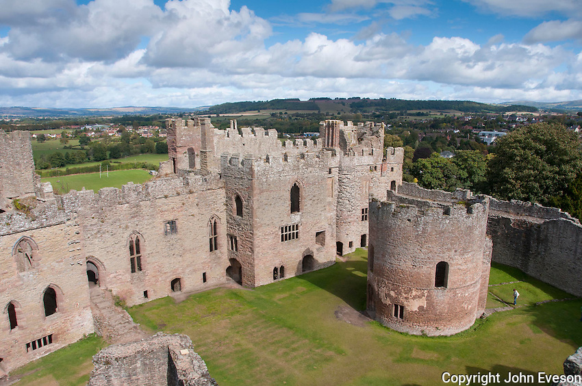 Ludlow Castle, Ludlow, Shropshire.