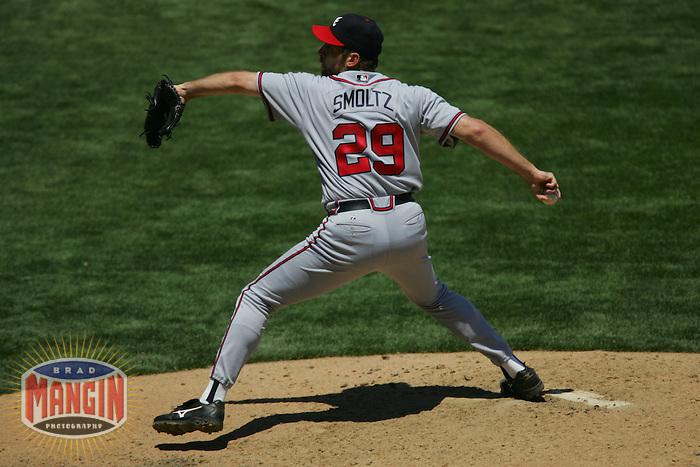 John Smoltz. Atlanta Braves vs San Francisco Giants. San Francisco, CA 7/20/2005 MANDATORY CREDIT: Brad Mangin