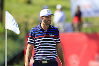 Dustin Johnson US Team on the 10th green during Thursday's Practice Day of the 41st RyderCup held at Hazeltine National Golf Club, Chaska, Minnesota, USA. 29th September 2016.<br /> Picture: Eoin Clarke | Golffile<br /> <br /> <br /> All photos usage must carry mandatory copyright credit (&copy; Golffile | Eoin Clarke)