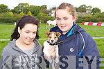 Rebbeca Murray and Nicole Clifford Killorglin with their puppy Rocky  at the Killorglin Pony show on Sunday..