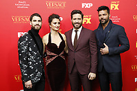 "LOS ANGELES - JAN 8:  Darren Criss, Penelope Cruz, Edgar Ramirez, Ricky Martin at the ""The Assassination of Gianni Versace: American Crime Story"" Premiere Screening at the ArcLight Theater on January 8, 2018 in Los Angeles, CA"
