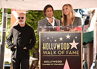 HOLLYWOOD, CALIFORNIA - DECEMBER 4: (L-R) Ryan Murphy, Brad Falchuk and Gwyneth Paltrow attend a ceremony honoring Ryan Murphy with a star on The Hollywood Walk of Fame on December 4, 2018 in Hollywood, California. (Photo by Frank Micelotta/Fox/PictureGroup)