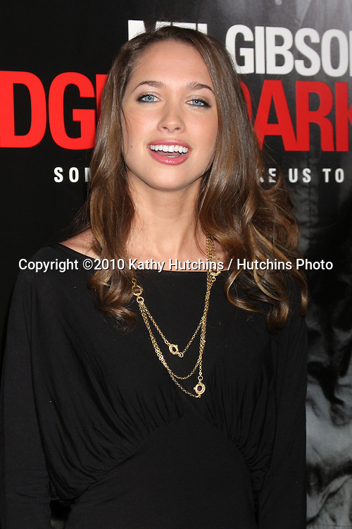 """Maiara Walsh.arriving at the premiere of the """"Edge of Darkness"""".Grauman's Chinese Theater.Los Angeles, CA.January 26, 2010.©2010 Kathy Hutchins / Hutchins Photo...."""