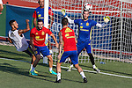 Spanish Thiago Alcantara, Dani Carvajal Paco Alcacer and David De Gea during the first training of the concentration of Spanish football team at Ciudad del Futbol de Las Rozas before the qualifying for the Russia world cup in 2017 August 29, 2016. (ALTERPHOTOS/Rodrigo Jimenez)