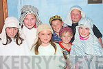 Pupils of Bouleennshere Nationl School who presented ..Joseph and the Amazing Technicolor Dreamcoat in the Community Centre Ballyheigue on Thursday  night were front l-r Cloe Flaherty, Megan Casey Lawlor, Hamish Irvine and Katie Kearney.  Bacl l-r Nora Kearney, Calum Irvine, and Conor Fay...   Copyright Kerry's Eye 2008