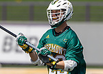 Graham Bocklet (#23) evaluates his options as UAlbany Lacrosse defeats Vermont 14-4  in the American East Conference Championship game at Casey Stadium, May 5.