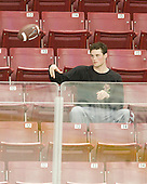 Brian Dumoulin (BC - 2) - The Boston College Eagles defeated the University of Massachusetts-Amherst Minutemen 6-5 on Friday, March 12, 2010, in the opening game of their Hockey East Quarterfinal matchup at Conte Forum in Chestnut Hill, Massachusetts.