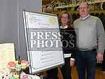 Martinn and Noeleen Lynch from the Hunterstown Inn pictured at the Enterprise day in Ardee parish centre. Photo:Colin Bell/pressphotos.ie