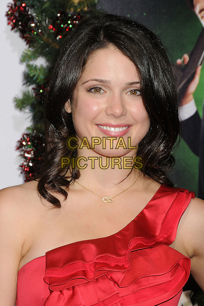 Ali Cobrin.'A Very Harold & Kumar 3D Christmas' Los Angeles premiere, Grauman's Chinese Theatre, Hollywood, California, USA..2nd November 2011.headshot portrait red one shoulder  .CAP/ADM/BP.©Byron Purvis/AdMedia/Capital Pictures.