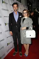 "David Walton and Majandra Delfino<br /> at the ""Consumed"" Los Angeles Premiere, Laemmle Music Hall 3, Beverly Hills, CA 11-11-15<br /> David Edwards/Dailyceleb.com 818-249-4998"